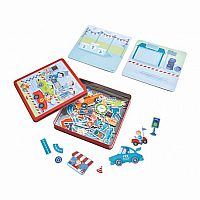 Zippy Cars Magnetic Game Box