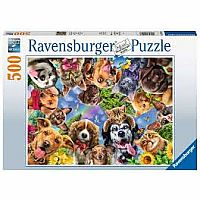 500 pc Animal Selfie Puzzle