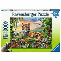 300 pc Tigers at Sunset Puzzles