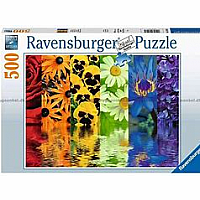 500 pc Floral Reflections Puzzle