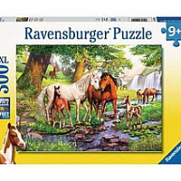 300 pc Horses by the Stream Puzzle