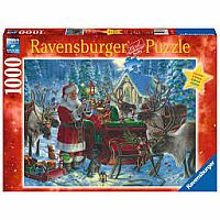 1000 pc Packing the Sleigh Puzzle