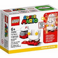 Super Mario Fire Mario Power Up Pack **MARIO STARTER COURSE REQUIRED**