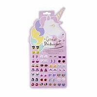 Unicorn Sticker Earrings
