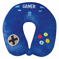 Gamer Fleece Neck Pillow