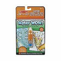 Water Wow! Connect The Dots Safari - On The Go Travel Activity