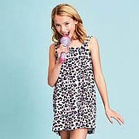 Pink Leopard Spa Wrap XS-Small size 4-8