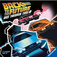 Back to the Future Dice Through Time Game