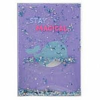 NarwhalFloating Glitter Journal