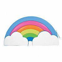 Rainbow Silicone Bag