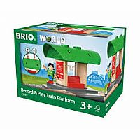 Brio Record and Play Train Platform