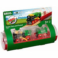 Brio Steam Train & Tunnel
