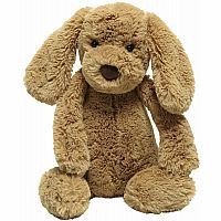 Bashful Puppy Toffee Medium12""
